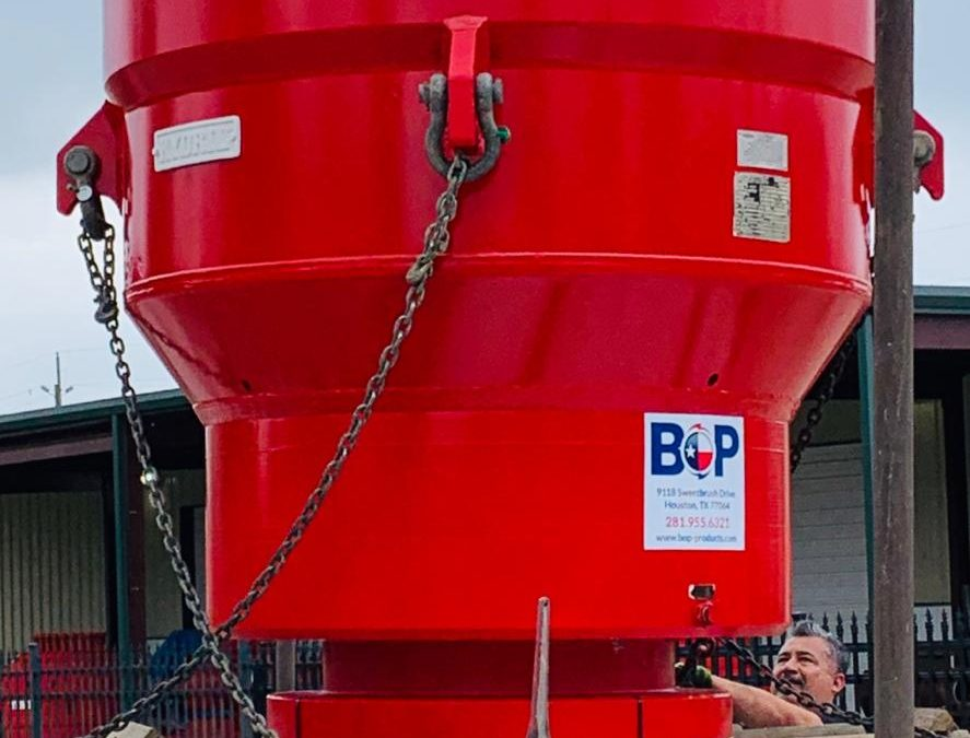 BOP Products Sent a Remanufactured Annular BOP to Mexico